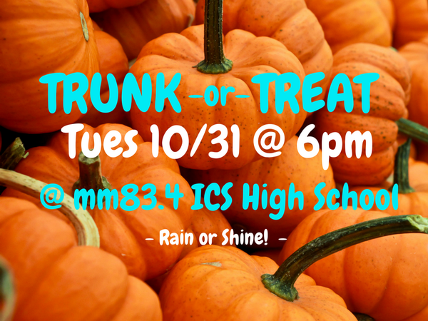Trunk or Treat in Islamorada Florida!
